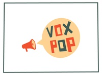 Vox Pop Logo Rough Idea
