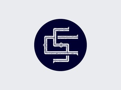 Monogram again... type custom type logo letters monogram
