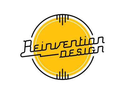 Retro Reinvention 2 design retro logo type typography custom type lettering tulsa reinvention design