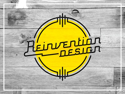 Retro Reinvention 3 design retro logo type typography custom type lettering tulsa reinvention design