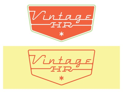 More Retro Scripty Stuff type logo retro vintage