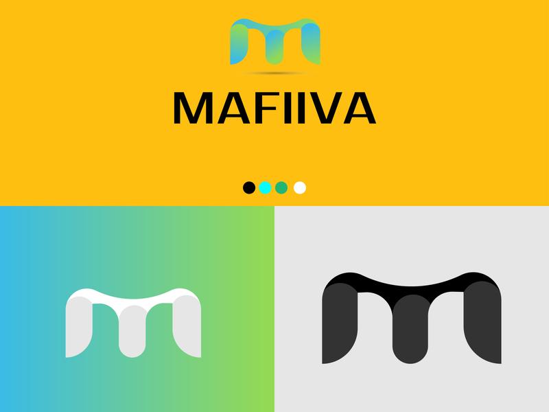 Mafiiva logo design design coloful logo icon minimal logo design logo master creative logo unique logo modern logo branding grid logo