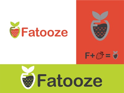fruit logo design for Fatooze company design lettermark logos custom logotype logo designer logo design logo creative logo mark abstract branding gradient letter logo app logo icon modern logo colorful logoset logofolio