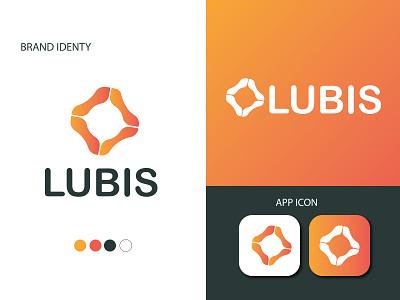 LUBIS-LOGO DESIGN simple gradient branding design brand identity branding logo logos logo design creative logo abstract illustration vector designerlion kingfisher