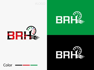BRH-Logo Design brh graphic design designerliton modern logo vect minimal icon typography branding logo vector design letter logo