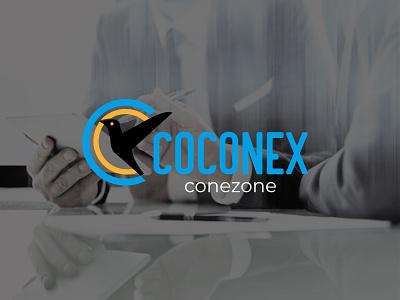 COCONEX- Mininal logo vectbest branding design illustration creative logo coin logo bird logo icon minimal modern logo logo design logo coconex