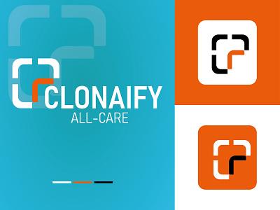 CLONAFY - Logo branding vectbest o p q r s t u v w x y z a b c d e f g h i j k l m n minimal vect flat clean illustration design icon branding logo design logo clonafy