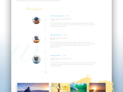 Playe minimal colour clean white colourful website web design interface concept ux ui