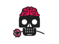 Skull + Flower