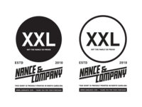 WIP | Nance & Company Clothing Tag.