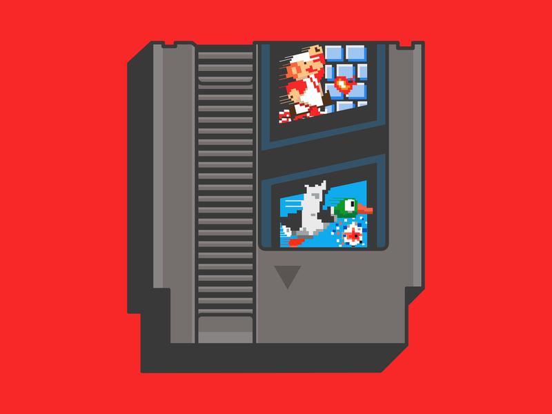 Super Mario Bros. nintendo super mario bros flat design design illustration art illustration graphic design