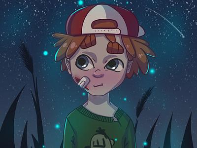 Lil' boy. boy illustration boy artwork art illustration art illustration