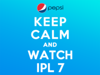 Keep Calm And Watch IPL 7