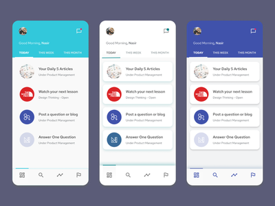 What would you prefer? app minimal ui ideation ux design