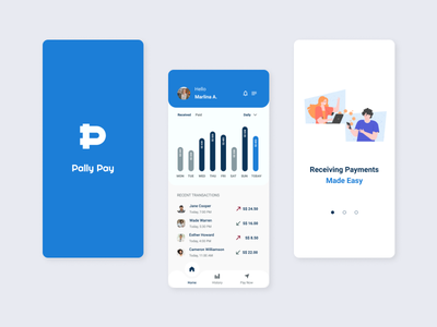 Payments Wallet for Business wallet app payment app app ideation ux design