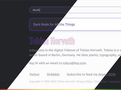 Dark Mode website dark mode darkmode