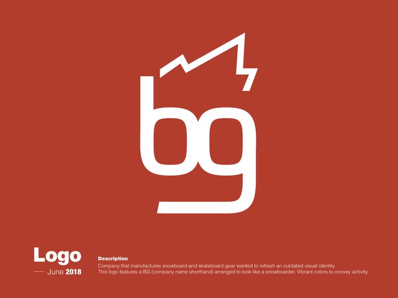 Logo Creation - Snowboard Gear Manufacturer flat vector minimal design logo branding