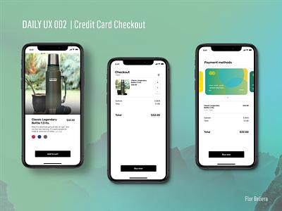 #DAILYUI 002 | Credit Card Checkout ux design credit card checkout ui