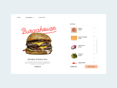 Settings 007 pastel buy settings web scroll brand list burger design typography vector ux ui
