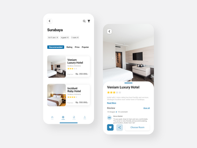 Hotel Booking Mobile App - Redesign hotel booking hotel app user interface design user interface userinterface adobe xd  photoshop  ui ux ui design uidesign ui  ux uiux adobe xd adobexd ui