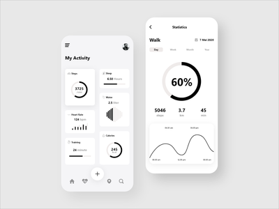 Sport Activity Mobile App - Redesign sports app sport app sport mobile app design mobile app mobile ui mobile adobexd user experience user interface design ui design uidesign ui  ux uiux user interface userinterface ui adobe xd