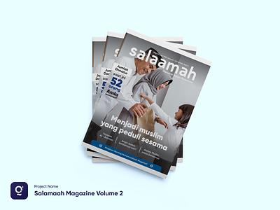 Salamaah Magazine Volume 2 project freelance brand magazine marketing branding graphic design design