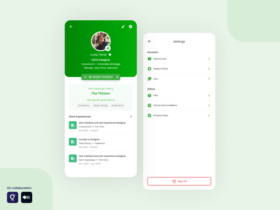 Daily UI - Settings mobile app design event consultation coworking space product design ux design design ui  ux uiux user interface design user interface ui design uidesign ui