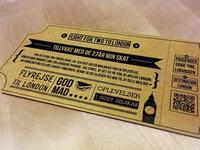 Ticket, present