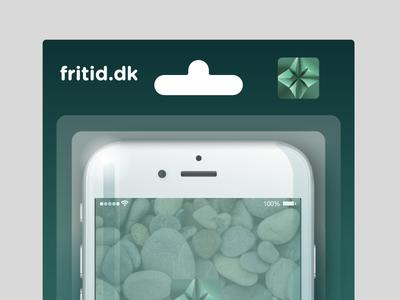 Iphone Packaging closeup digital iphone packaging