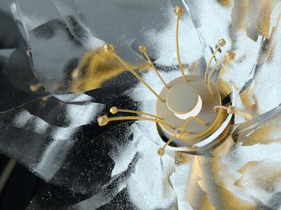 Blosomming Blossi render redshift3d 3d motiongraphics motiondesign cinema4d cd4