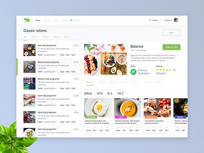 Healthy food clean desktop diets delivery web site web healthy food food healthy marketpalce