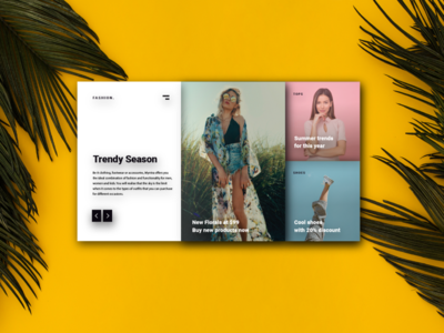 CLOTHING LANDING PAGE | FASHION