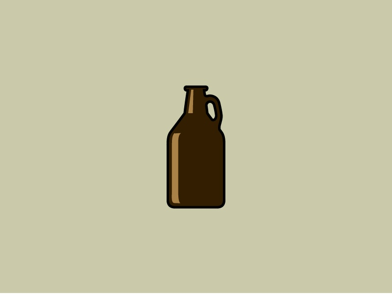 icon 6 growler by owen song dribbble dribbble