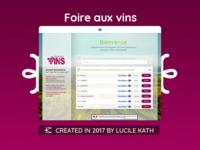 UI/UX Design pour un site e-commerce de Vins