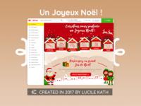 UI/UX Design - Ecommerce Noel