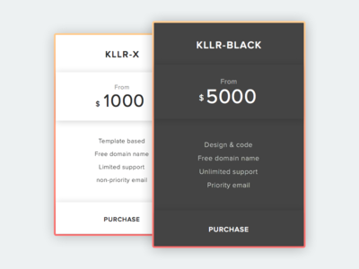 Pricing - Daily UI #030 (Sketch File)