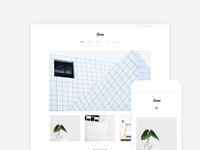 Neue - WordPress Portfolio