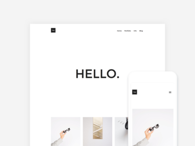Yve - Minimalist WordPress Theme