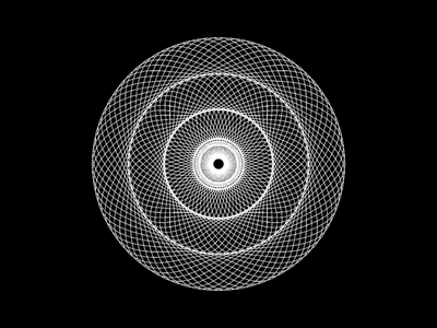 Abstract design adobe graphic design illusion pattern paten circles bw abstract illustration