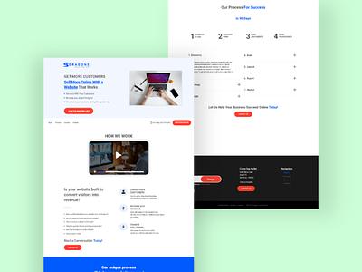 Web ui design clean web design minimal design uiux ui design web ui design website