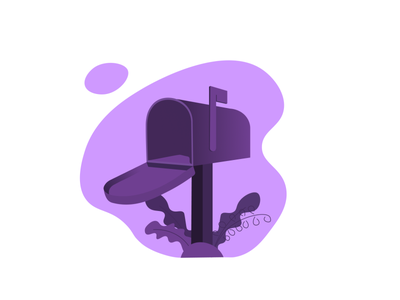 No notification illustrations nothing classic violet design illustration ui message empty state none chat notification