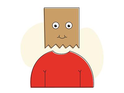 illustration   introvert   Flat character illustration avatar xd illustration sad happy flat illustration private introvert character character design illustrator