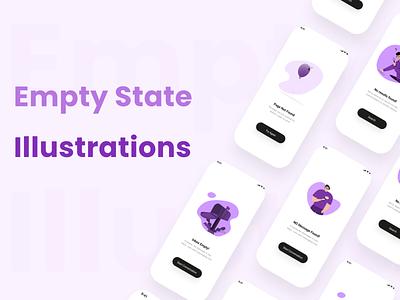Empty state Illustrations graphic design illustration empty state illustration