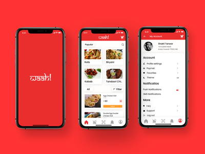 Food ordering mobile app design interface uiux ui food app food order food service food delivery food app design app ui