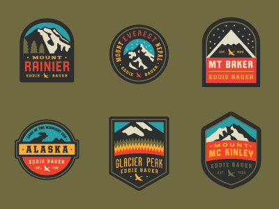 Eddie Bauer Patches