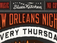 Blues Kitchen New Orleans Night