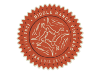 Biddle Ranch Vineyards Stamp