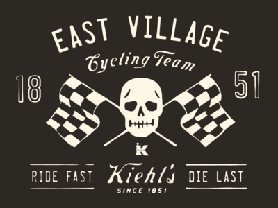 Kiehl's Cycling Team Jersey Graphic