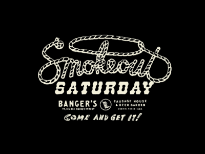 Banger's Smokeout Saturday