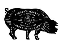 Banger's Restaurant Signage
